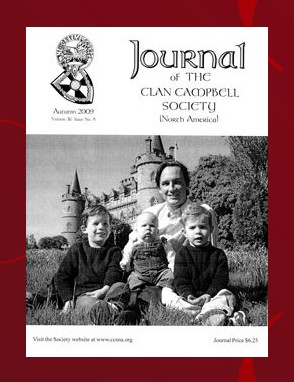 Larger image of 2009 Journal of the Clan Campbell Society