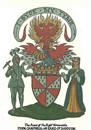 John Campbell 4th Earl of Loudoun Arms with Supports 1